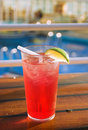 Cruise cocktail Royalty Free Stock Photo