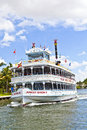 Cruise with jungle queen riverboat fort lauderdale fl august on august in fort lauderdale florida the is years and Royalty Free Stock Images