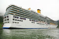 Cruise liner Costa Luminosa Royalty Free Stock Photos