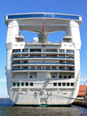 Cruise liner's back Stock Image