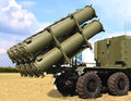 Cruise missile complex Royalty Free Stock Photo