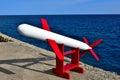 Cruise Missile Royalty Free Stock Photo