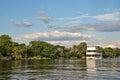 Cruise on river Zambeze Royalty Free Stock Photo