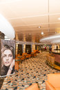 Cruise ship bar interior Royalty Free Stock Photo