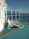 Cruise Ship Deck Royalty Free Stock Photo