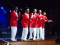 Cruise Ship Entertainment - The Temptations Stock Image