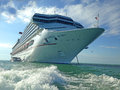 Cruise ship front Stock Photo