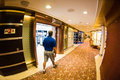 Cruise ship interior Royalty Free Stock Photo