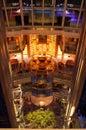 Cruise ship luxury interior Royalty Free Stock Photo