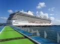 Cruise ship Oceania Riviera in Martinique
