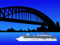 Cruise ship Sydney Stock Photo