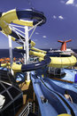 Cruise ship water park Stock Photography