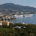 Cruise ships in Acapulco - Mexico Royalty Free Stock Photography