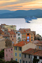 Cruise ships at St.Tropez Stock Photos