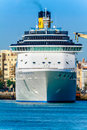 Cruiser Costa Mediterranea Stock Photo