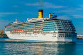 Cruiser Costa Mediterranea Royalty Free Stock Photos