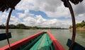 Cruising on the Usumacinta river Royalty Free Stock Photo