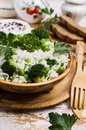 Crumbly white rice Royalty Free Stock Photo