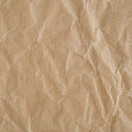 Crumpled eco paper texture background Stock Image