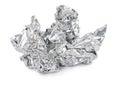 Crumpled foil