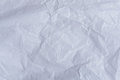 Crumpled paper sheet Royalty Free Stock Photo