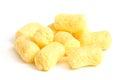 Crunchy corn snacks Royalty Free Stock Photo
