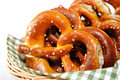 Crunchy pretzels Stock Photography