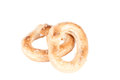 Crunchy pretzels Royalty Free Stock Photo