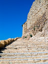 Crusader castle Al - Kerak, Jordan Stock Photography