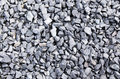 Crushed gravel close up of as background or texture Royalty Free Stock Image