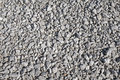 The crushed gravel texture on a white background Royalty Free Stock Photography