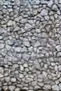 Crushed Masonry of Rough Stone Wall Texture Background and Pattern Royalty Free Stock Photo