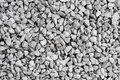 Crushed stone background made of a closeup of a pile of Royalty Free Stock Photo