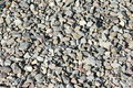 Crushed stone texture as background closeup Royalty Free Stock Images