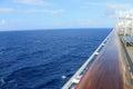 Crusing at sea Royalty Free Stock Photo