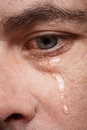 Crying man Stock Photos