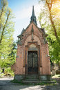 Crypt in a cemetery in Lviv