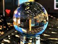 Crystal Ball On The Table