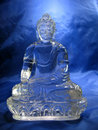 Crystal Buddha Royalty Free Stock Photo