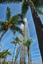 The Crystal Cathedral is a church building Royalty Free Stock Photo