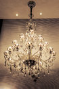 Crystal chandelier lighting,Wall Sconce,Warm light,The light of hope,Light up your dream,Romantic time Royalty Free Stock Photo