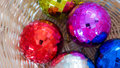 Crystal christmas ball Lizenzfreie Stockfotos