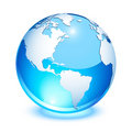 Crystal earth Royalty Free Stock Photo