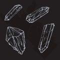 Crystal Gems Sketch Illustration