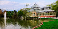 Crystal Palace, Retiro, Madrid Royalty Free Stock Photo