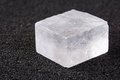 Crystal of Salt Royalty Free Stock Photo