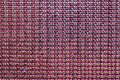 Crystal sequins mosaic pattern