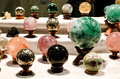 Crystal therapy spheres