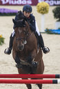 Csio barcelona international show jumping event spain septembre Stock Image