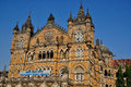Cst mumbai chatrapati shivaji terminus in or bombay it is also called victoria terminus vt and it is a unesco world heritage site Stock Photography
